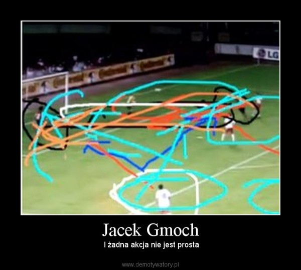 Jacek Gmoch –  I żadna akcja nie jest prosta
