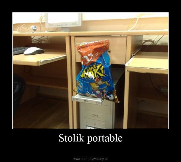 Stolik portable –