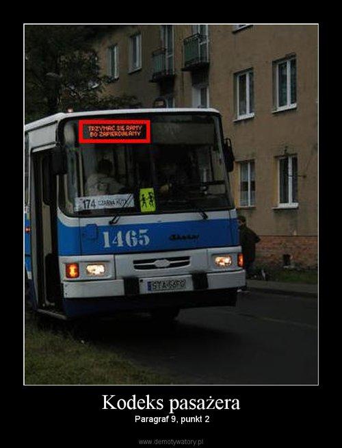 Kodeks pasażera