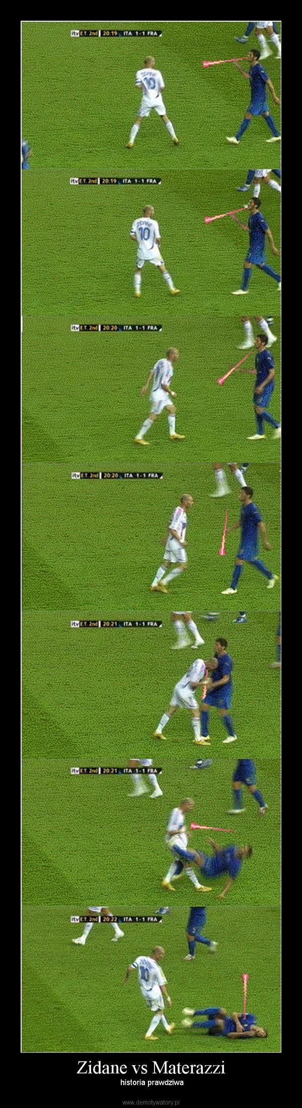 Zidane vs Materazzi –  historia prawdziwa