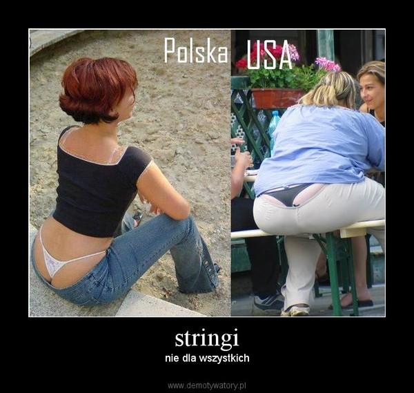 stringi –  nie dla wszystkich