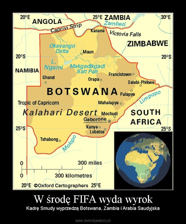 W środę FIFA wyda wyrok –  Kadrę Smudy wyprzedzą Botswana, Zambia i Arabia Saudyjska