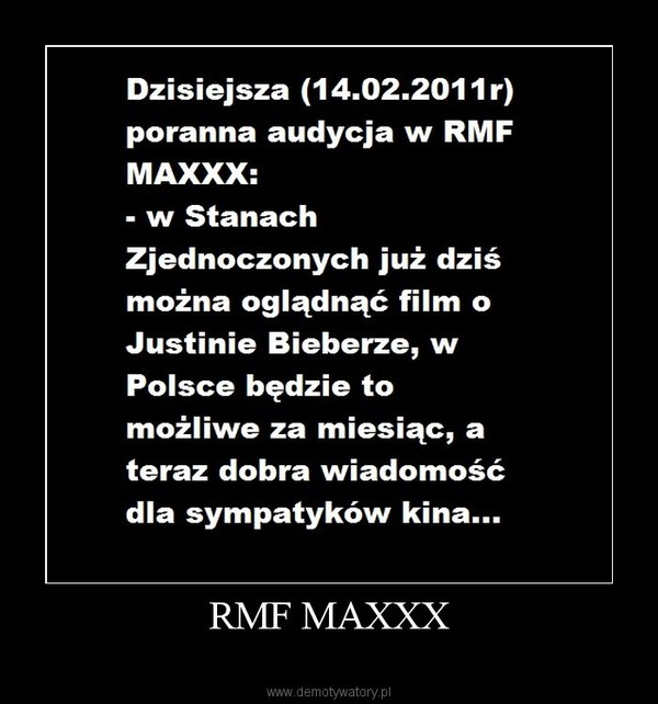 RMF MAXXX –