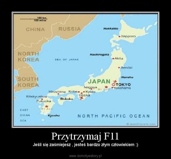 Przytrzymaj F11 – Jeśli się zaśmiejesz , jesteś bardzo złym człowiekiem :)