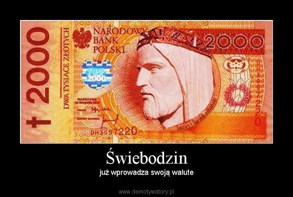 Świebodzin – już wprowadza swoją walute