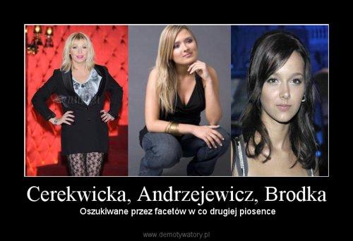 Cerekwicka, Andrzejewicz, Brodka