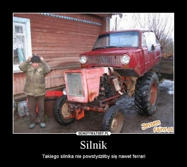 Silnik – Takiego silnika nie powstydziłby się nawet ferrari