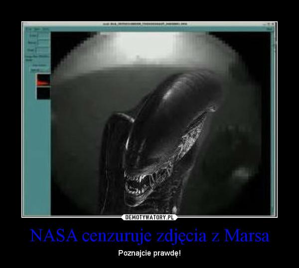 NASA cenzuruje zdjęcia z Marsa – Poznajcie prawdę!