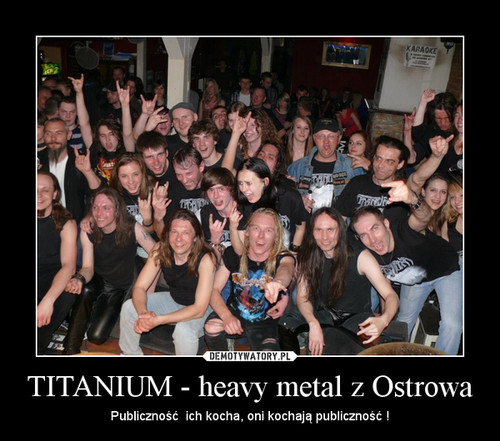 TITANIUM - heavy metal z Ostrowa
