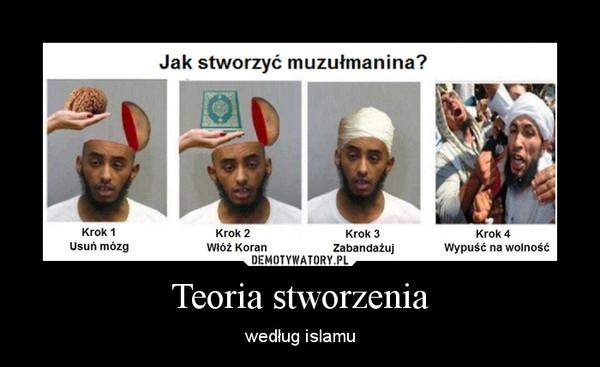 Teoria stworzenia – według islamu