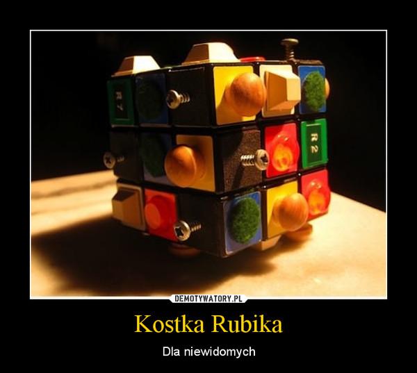 Kostka Rubika – Dla niewidomych