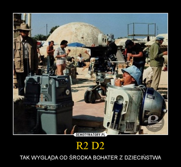 R2 D2 – TAK WYGLĄDA OD ŚRODKA BOHATER Z DZIECIŃSTWA