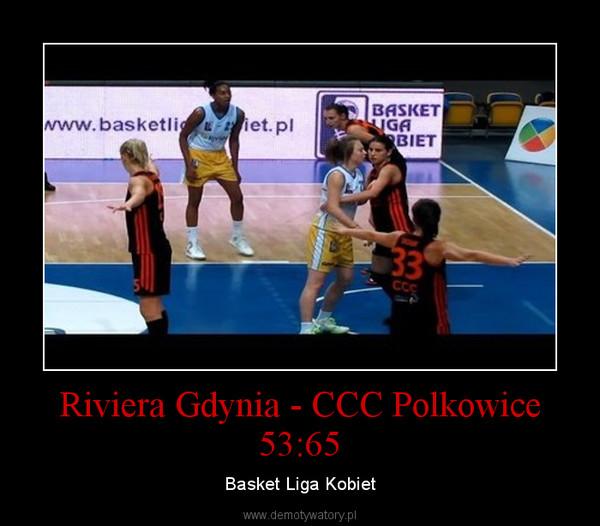 Riviera Gdynia - CCC Polkowice 53:65 – Basket Liga Kobiet