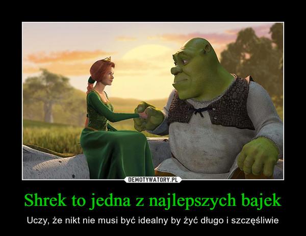 Shrek to jedna z najlepszych bajek – Uczy, że nikt nie musi być idealny by żyć długo i szczęśliwie