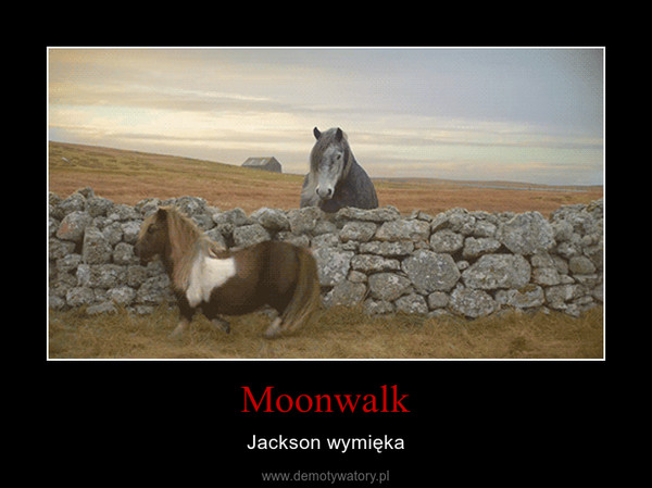 Moonwalk – Jackson wymięka