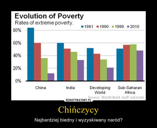 Chińczycy – Najbardziej biedny i wyzyskiwany naród?