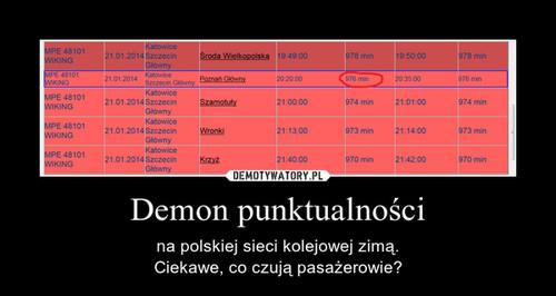 Demon punktualności