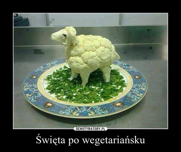 Święta po wegetariańsku –