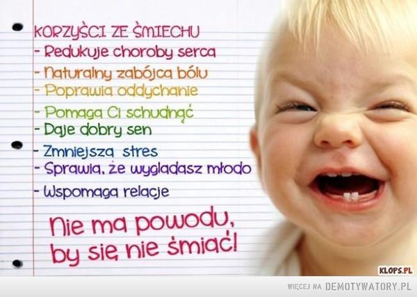 Śmiech to zdrowie! –