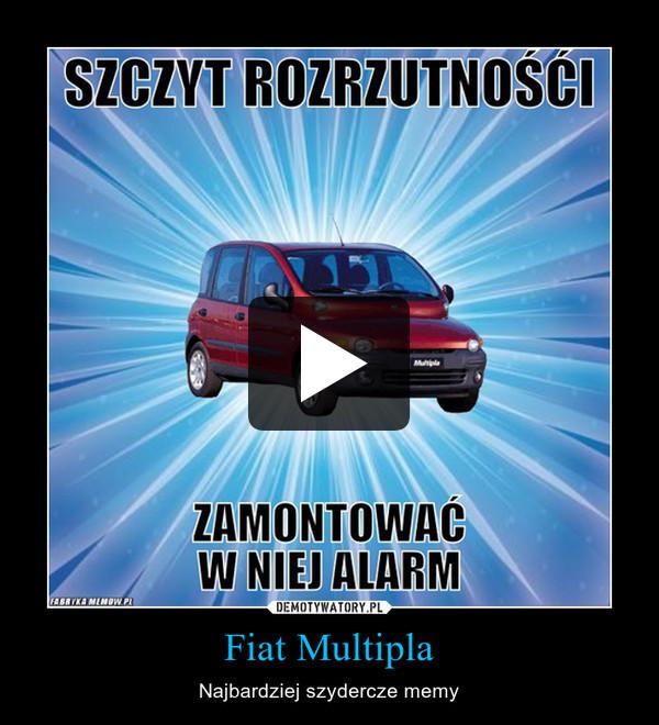 Fiat Multipla – Najbardziej szydercze memy
