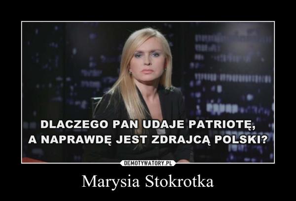 Marysia Stokrotka –