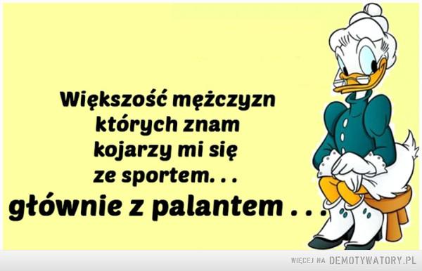 Mężczyźni i sport –