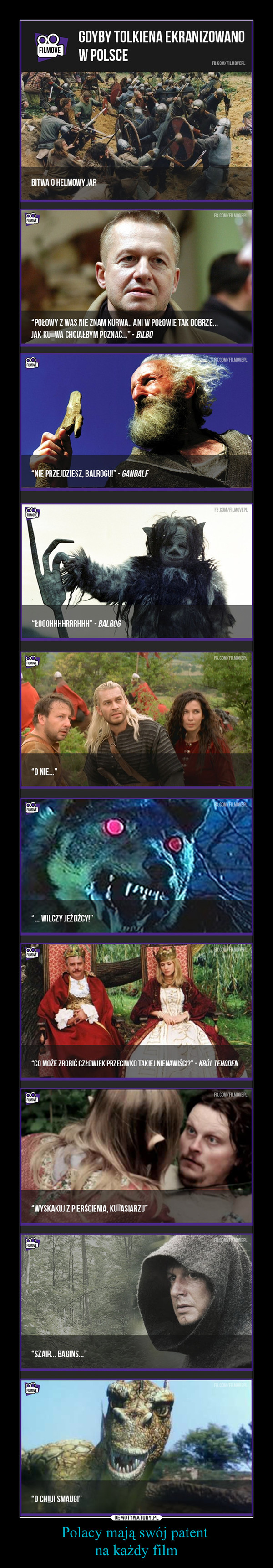 Polacy mają swój patent na każdy film –