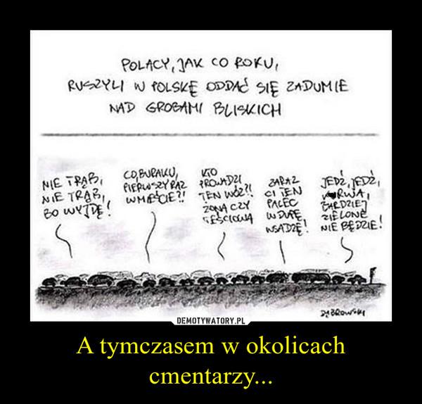 A tymczasem w okolicach cmentarzy... –