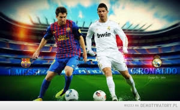 I kto Tu jest lepszy??? – Lionel Messi (FC Barcelona)  - 74 gole - 91 meczów - średnia 0,81 - lata – 2005 – 2014Cristiano Ronaldo (Real, Manchester U.) - 70 goli - 107 meczów - średnia 0,65 - lata 2003-2014