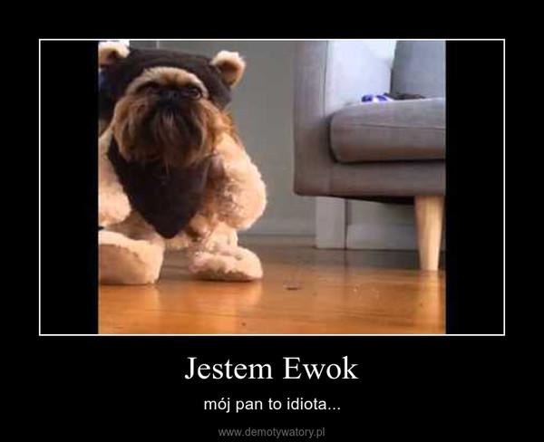 Jestem Ewok – mój pan to idiota...