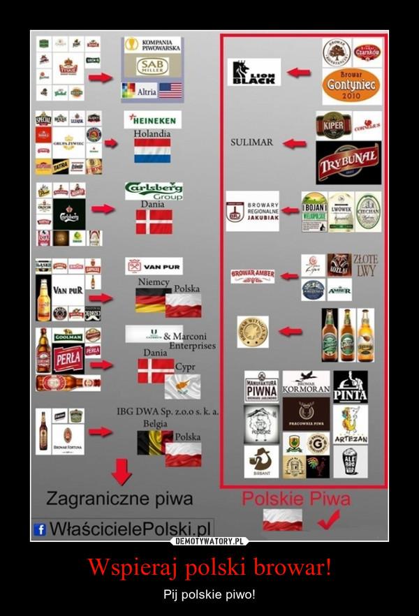 Wspieraj polski browar! – Pij polskie piwo!