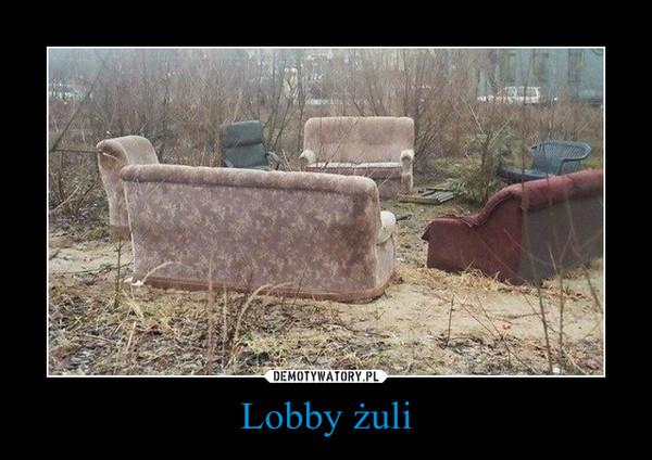 Lobby żuli –