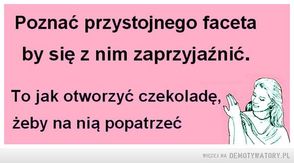 Poznać... –