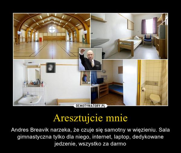 Aresztujcie mnie – Andres Breavik narzeka, że czuje się samotny w więzieniu. Sala gimnastyczna tylko dla niego, internet, laptop, dedykowane jedzenie, wszystko za darmo