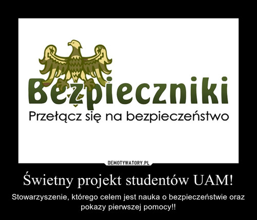 Świetny projekt studentów UAM!