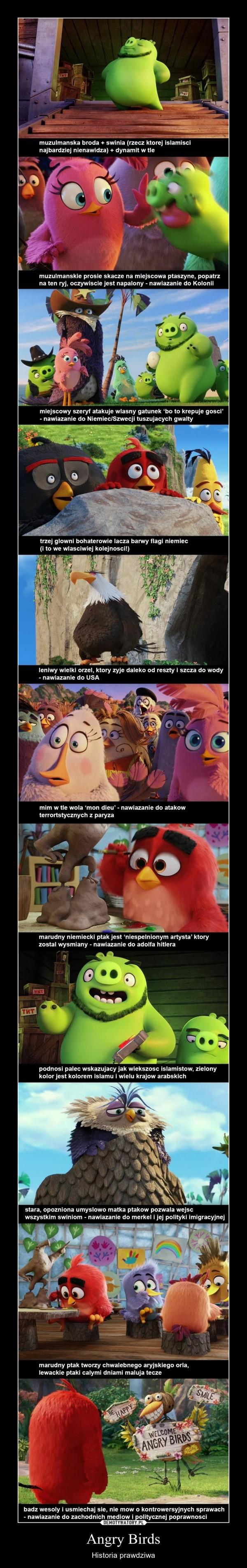 Angry Birds – Historia prawdziwa