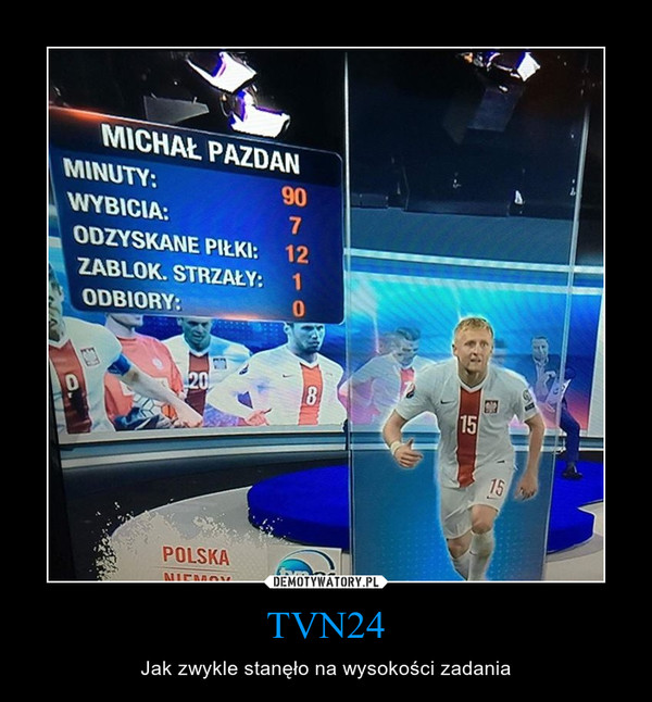 TVN24 – Jak zwykle stanęło na wysokości zadania