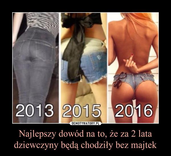 Najlepszy dowód na to, że za 2 lata dziewczyny będą chodziły bez majtek –