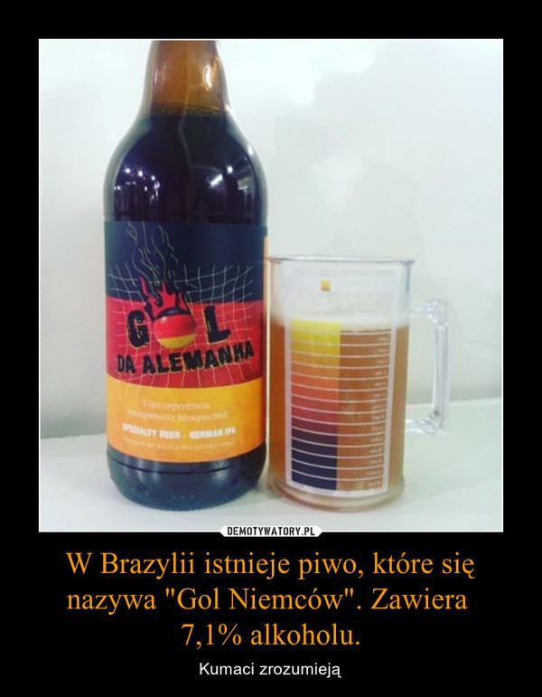 """W Brazylii istnieje piwo, które się nazywa """"Gol Niemców"""". Zawiera 7,1% alkoholu. – Kumaci zrozumieją"""