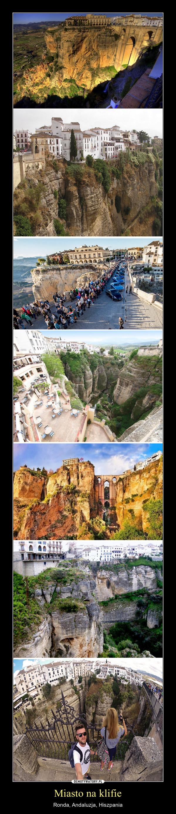 Miasto na klifie – Ronda, Andaluzja, Hiszpania