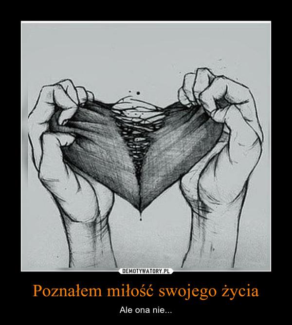Poznałem miłość swojego życia – Ale ona nie...