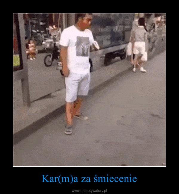 Kar(m)a za śmiecenie –