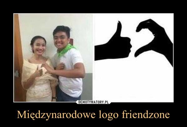 Międzynarodowe logo friendzone –