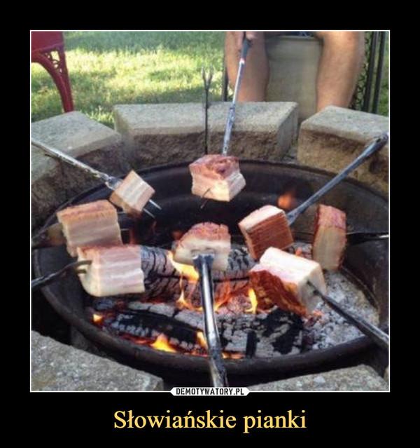 Słowiańskie pianki –