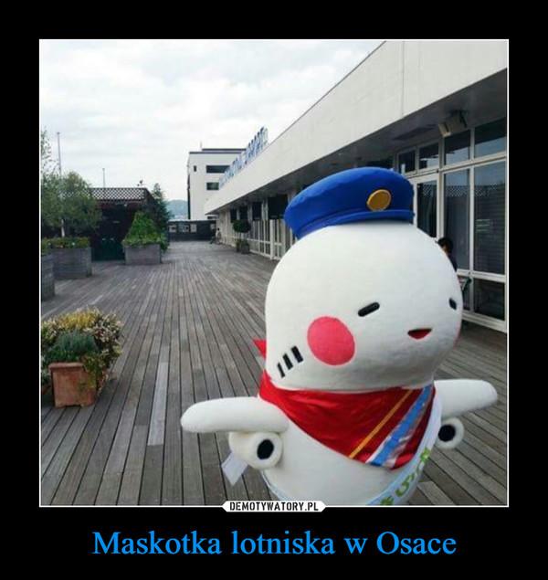 Maskotka lotniska w Osace –