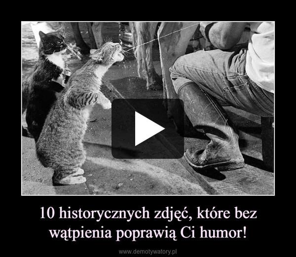 10 historycznych zdjęć, które bez wątpienia poprawią Ci humor! –