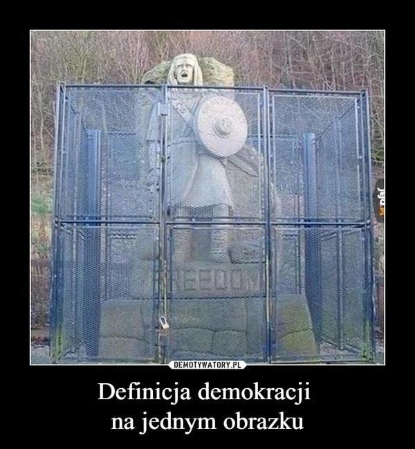 Definicja demokracji na jednym obrazku –