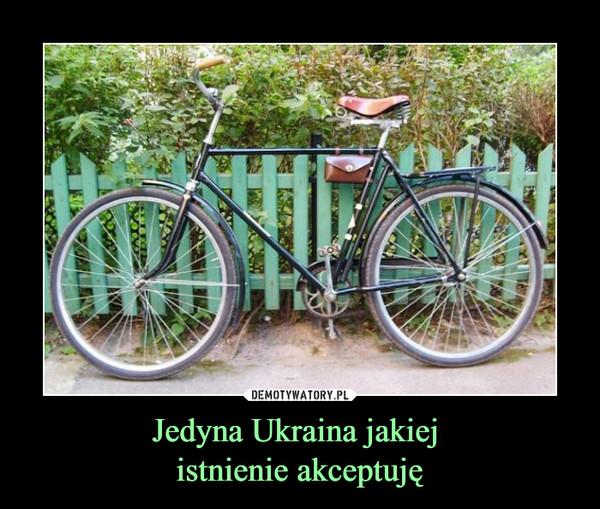 Jedyna Ukraina jakiej  istnienie akceptuję