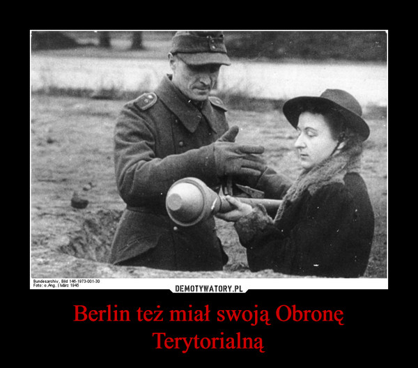 Berlin też miał swoją Obronę Terytorialną –