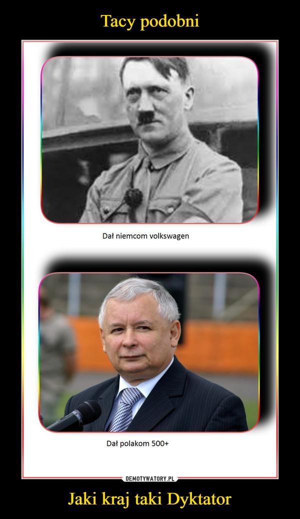 Jaki kraj taki Dyktator –